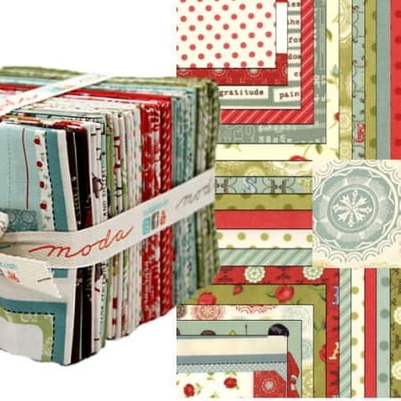 Odds and Ends Fat Quarter Bundle-0