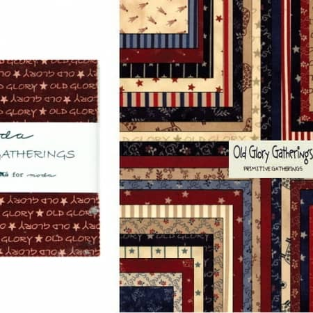 "Old Glory Gatherings 5"" Charm Pack-0"