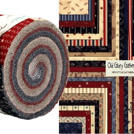 Old Glory Gatherings Moda Jelly Roll-0