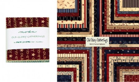 "Old Glory Gatherings 2.5"" Charm Pack-0"