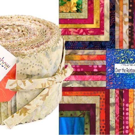Over the Rainbow Jelly Roll Natural-0