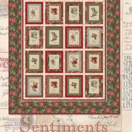 Sentiments Quilt Pattern-0