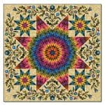 Rainbow Star Quilt Kit-0