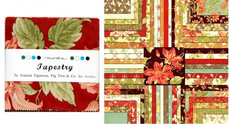 "Tapestry 2.5"" Charm Pack-0"