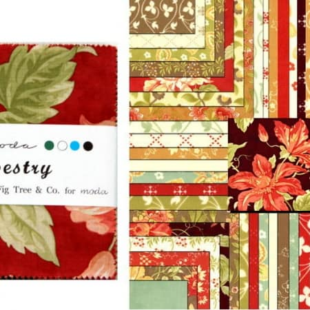 """Tapestry 5"""" Charm Pack-0"""