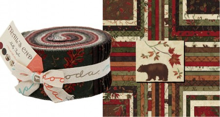 Trails End Moda Jelly Roll - Brushed-0