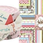 Windsor Lane Pink Junior Moda Jelly Roll-0