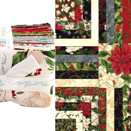 Winter Elegance Fat Eighth Bundle-0