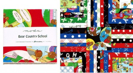 "Bear Country School 5"" Charm Pack-0"