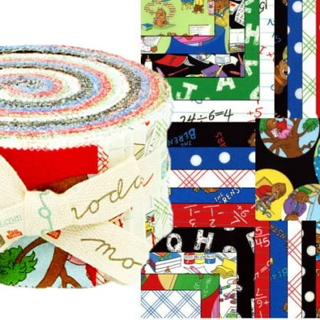Bear Country School Moda Jelly Roll-0