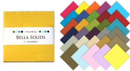 "Moda Bella Solids - 2.5"" Charm Pack-0"