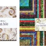 "Color Splash Batiks 5"" Charm Pack-0"