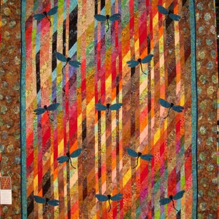 Dragonflies in Flight Quilt Kit-0