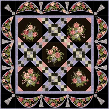 Garden Gate Quilt Kit-0