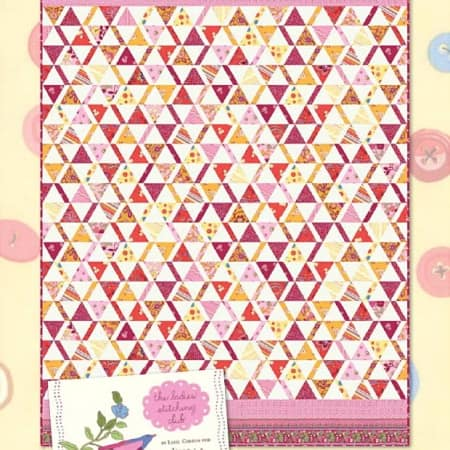 Ladies Stitching Club Quilt Pattern-0