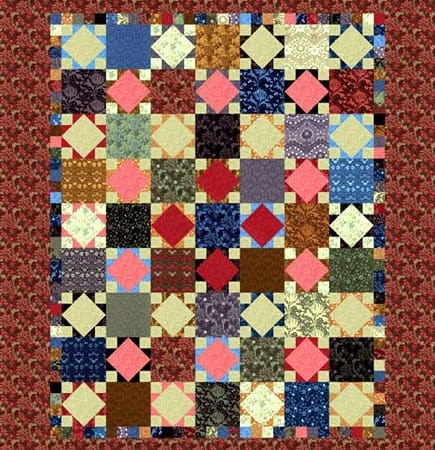 The Morris Apprentice Quilt Pattern-0