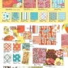 "Summer in the City 2.5"" Charm Pack + Quilt Pattern-14391"