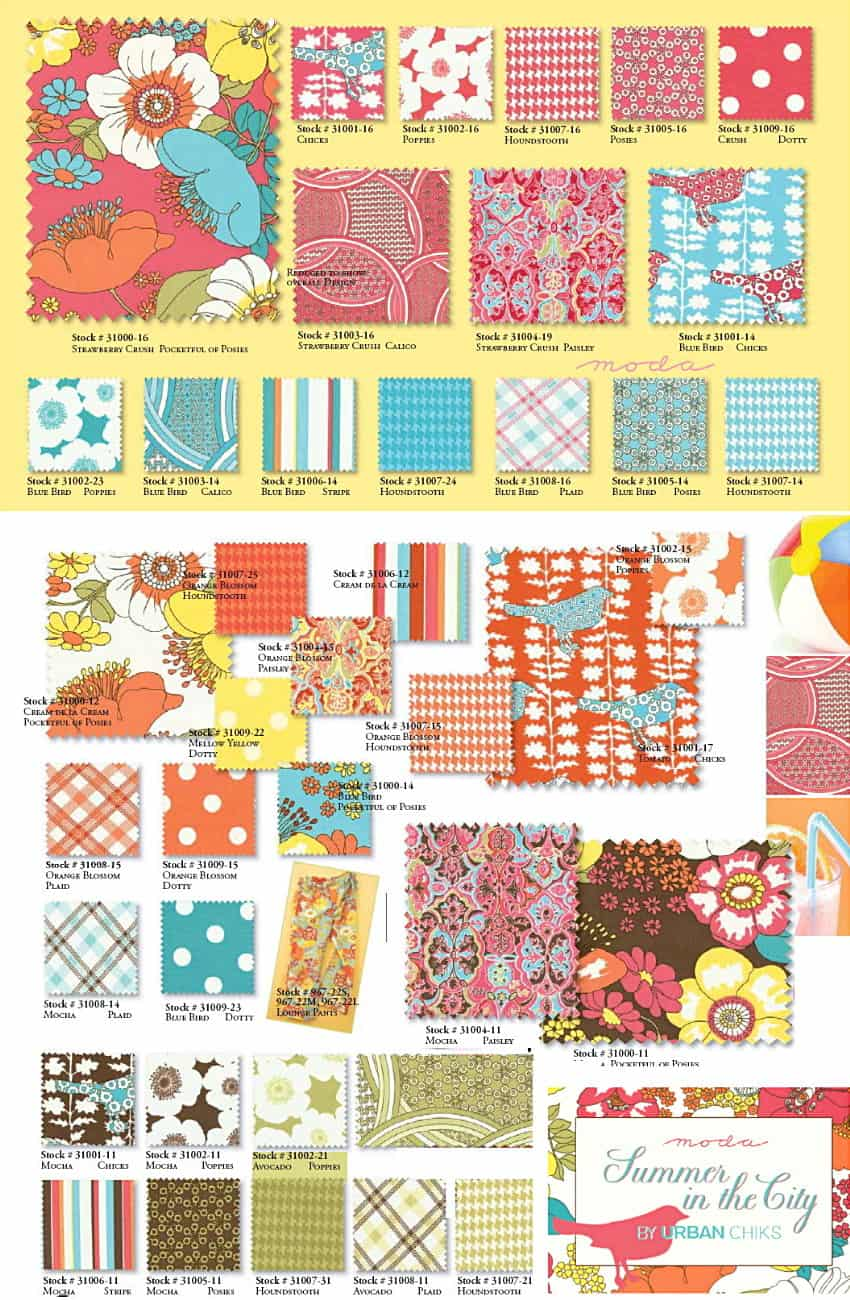 Summer In The City 2 5 Quot Charm Pack Quilt Pattern