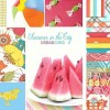 "Summer in the City 2.5"" Charm Pack + Quilt Pattern-14390"