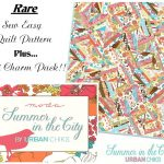 "Summer in the City 2.5"" Charm Pack + Quilt Pattern-0"
