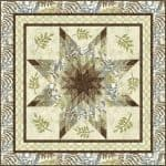 Woodland Star Quilt Kit-0