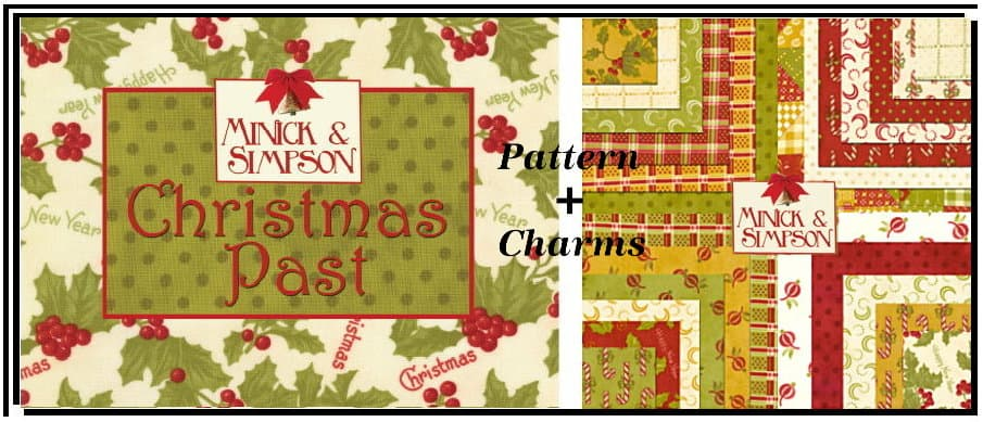 """Christmas Past 2.5"""" Charm Pack-0"""