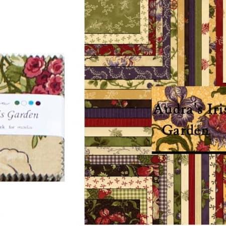 "Audra's Iris Garden 2.5"" Charm Pack-0"
