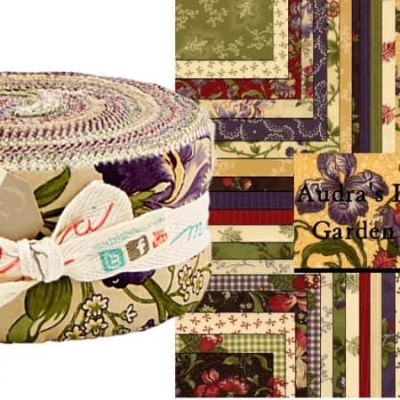 Audra's Iris Garden Moda Jelly Roll-0