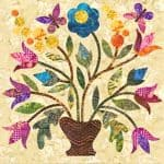 Silhouettes - Spring Bouquet - Block 5-0