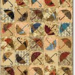 Dancing in the Rain - Dancing Umbrella Quilt Kit-0