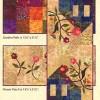 Garden Trio - 3 Table Runner Quilt Kits-0