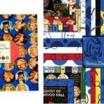 Get a Clue by Nancy Drew Moda Layer Cakes-0