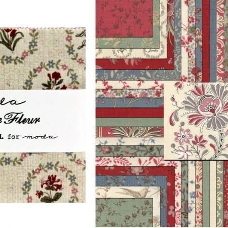 """La Belle Fleur 5"""" Charm Pack-0"""