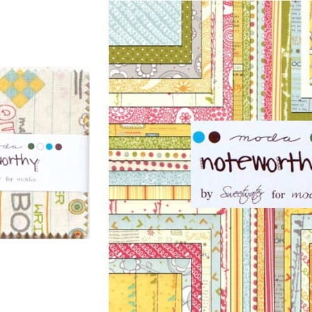 "Noteworthy 2.5"" Charm Pack-0"