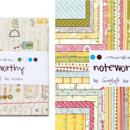 "Noteworthy 5"" Charm Pack-0"