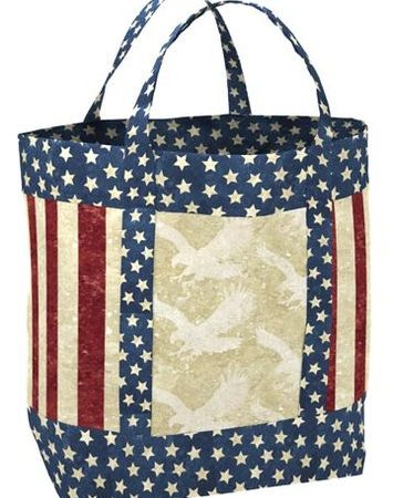 Stars & Stripes Handbag - Purse / Bag Kit-0