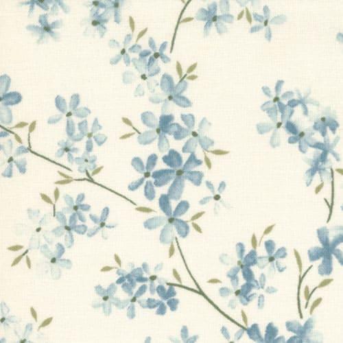 Felicity - 32602 14 - Blossoms Ivory Aqua-0