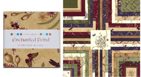 """Enchanted Pond 5"""" Charm Pack-0"""