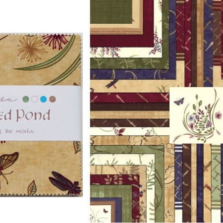 "Enchanted Pond 5"" Charm Pack-0"