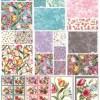 Felicity - 32602 14 - Blossoms Ivory Aqua-14598