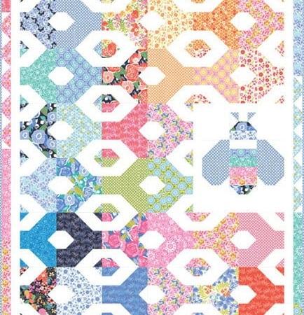 Honey Honey Quilt Pattern-0