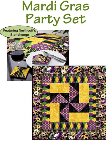 Mardi Gras Party Set Kit-0