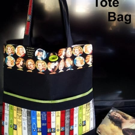Get a Clue Nancy Drew Mystery Tote Bag Kit-0