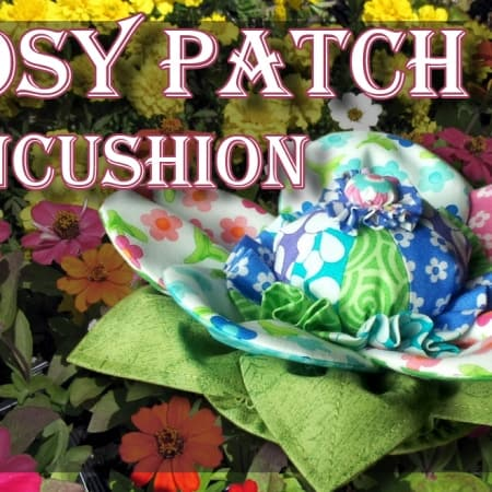 Posy Patch Pincushion Kit-0