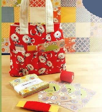 Learn to Sew Quilt Charming Kit + Bonus Bag-0