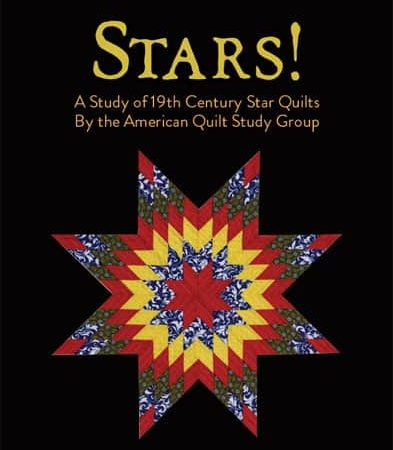 Stars! A Study of 19th Century Star Quilts Book-0