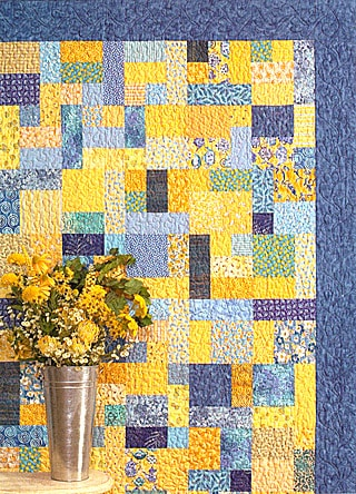 Yellow Brick Road Quilt Pattern-0