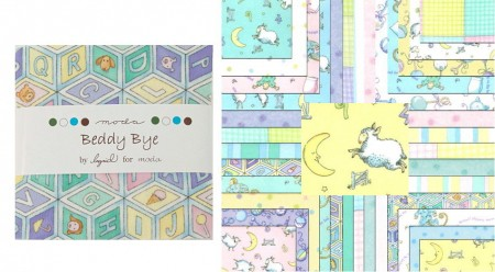 """Beddy Bye Flannels 5"""" Charm Pack-0"""