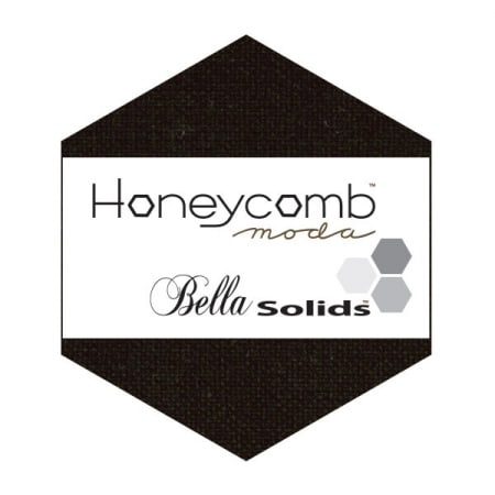 BLACK Moda Honeycomb + Free Pattern-0