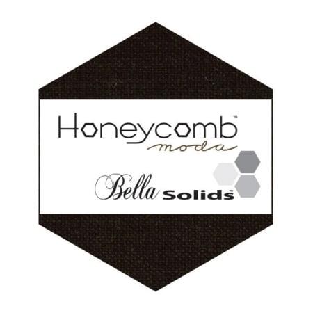 BLACK Moda Honeycomb + Free Pattern-0